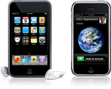 Ipod y Iphone