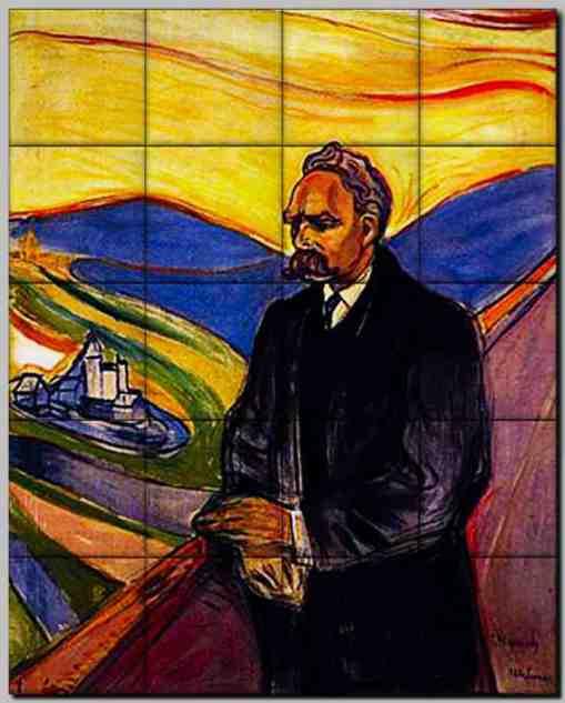 Friedrich Nietzsche - 1906 - Oil on canvas