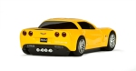 corvette-yellow-back