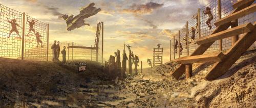 Los Spartans y su caida Halo-fall-of-reach-concept-2