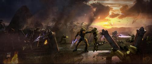 Los Spartans y su caida Halo-fall-of-reach-concept-3