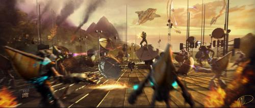 Los Spartans y su caida Halo-fall-of-reach-concept-4
