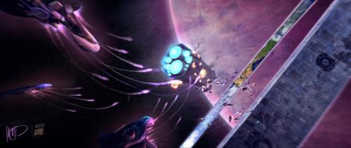 Los Spartans y su caida Halo-fall-of-reach-concept-5