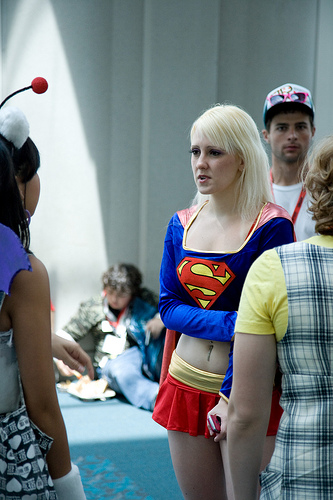 Cosplayers at San Diego Comic Con 2009