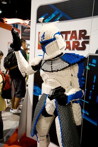 Lego Clone Wars at San Diego Comic Con 2009